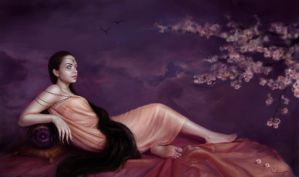 Qiane, Goddess of Illusions by Shreya
