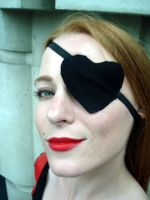 Molotov: Eye Patch by JessicaDru