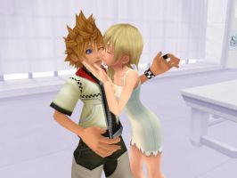 MMD - Welcoming Kiss - by XxChocolatexHeartsxX