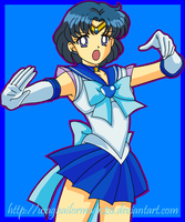 Sailor Mercury by usagisailormoon20