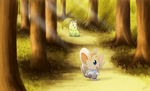 COM: Exploring the Forest by Lauzi