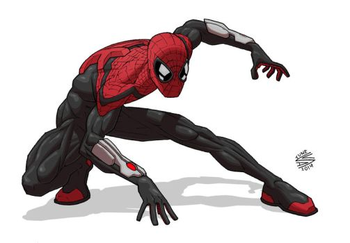 Superior Spider-Man by drawerofdrawings