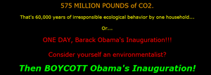 Obama save the enviroment??? by LonelyImmortal