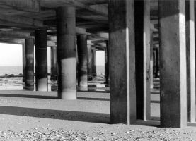 Under the Pier 1 by erinroonifer