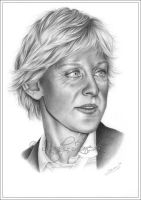 Ellen DeGeneres by Zindy