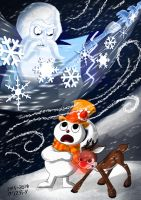 Rudolph and Frosty's Christmas in July by Madame-Kikue