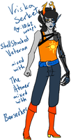 ResistanceStuck - Vriska by CheshireCatGrin