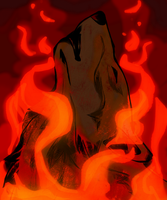 Up in Flames by NamelessOkami
