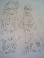 One of the first drawings of emil by rem123sockmonkey