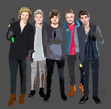 One Direction (process 2) by Amnesia5sos