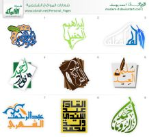 writers logos set1 by moslem-d