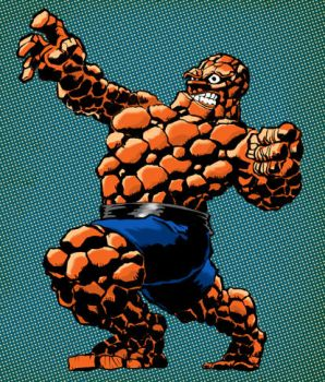 The Thing - Marvel Comics by GeePeeDee
