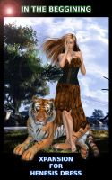 IN THE BEGINING for Henesis Dress (Bengal Tiger) by DiYanira
