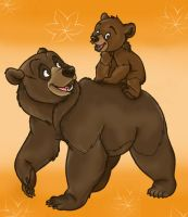 Brother Bear by feli