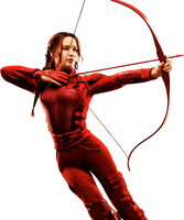 The Hunger Games: Mockingjay - Katniss HQ PNG #02 by BrielleFantasy