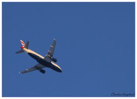 Aircraft British Airways by Claudia008