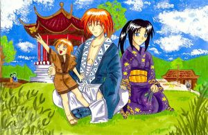 Family Himura by Anne-chan