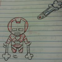 Iron Man Chibi Sketch by U-Nica
