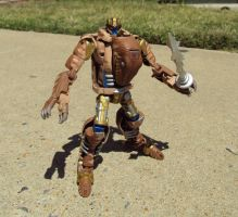 Custom Universe Dinobot by Unicron9