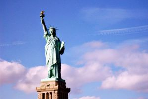 NYC - Statue of Liberty by PureIdiocy
