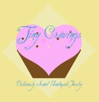 Tiny Cravings Logo Design by bettenoir87