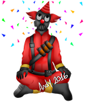 Pyro Tf2 by CrazyAndy2000