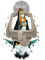 Twilight Princess Tribute - Midna by Mikadel