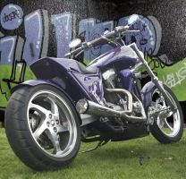 Harley Davidson Custom 3 by Dany-Art