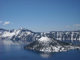 Crater Lake by 23Toucans