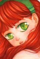 Red haired one by Rikae