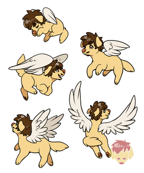 .:Angel~Puppers:. by GoldenMiro