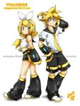 Rin and Len by Rolly-Chan