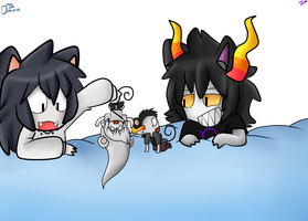 Nee Nee (? NEKOS  .:collab:. by ask-jeff-teh-killer