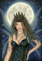 The Moonlight Fairy by Rajacenna