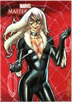 Black Cat MM08 AP Sketch Card by ryanorosco