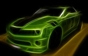 Green  Camaro by idioti123