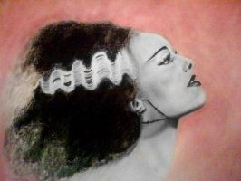 Bride of Frankenstein by AnndreaLeeann