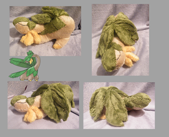 Tropius Plush by zukori