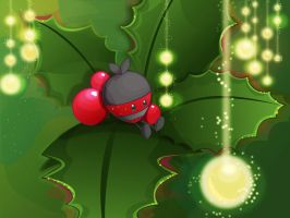 A Holly Berry by lafhaha