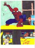 Spider-man and the C.O.B. by Yenk
