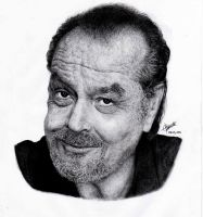 Jack Nicholson Drawing by EsteemedProfessor
