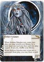 Magic Card Alteration: Solemn Simulacrum 9-2 by Ondal-the-Fool