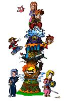 Torre Terranigma by Mosquis