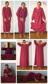 Nightgown Space Saver Pack 2 by tacostock