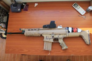 My homemade FN Scar-h by SomethingWild7