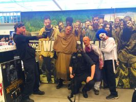 NF Comicon : Me and Haunt Manor Guys by TheWarRises