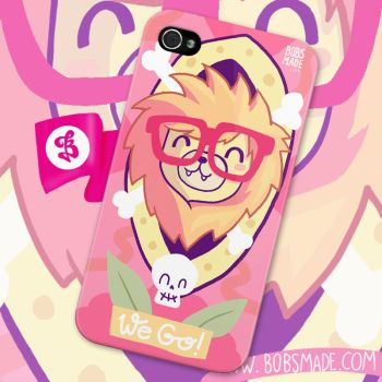 iPhone Case Lion by Bobsmade