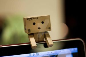 danbo series : waiting by rachelmyrna
