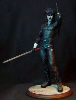 The Crow: Dance of the Dead statue by GabrielxMarquez
