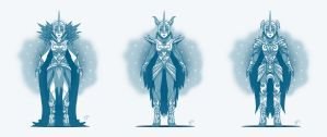 Villainess of the Moon - concept design v2 by GlancoJusticar
